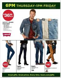 levi jeans black friday sale sears black friday ad scans 2014 see all the best deals