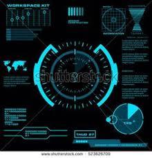 abstract future concept vector futuristic blue virtual graphic