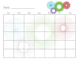 33 best calendars images on pinterest calendar templates