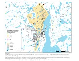 Morel Mushroom Map Cklb News N W T Health Adivsory For Arsenic In Lakes