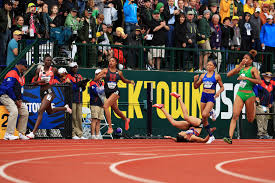 allyson felix comes up short in women u0027s 200 meters at olympic