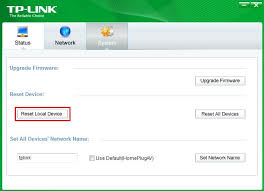 how to reset tp link wifi how to reset the powerline adapters to factory defaults tp link
