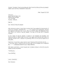 sample cancellation letter for credit card transaction best photos of nj security deposit demand letter security security deposit refund letter sample