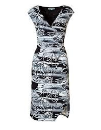 black floral sketch dress cleo