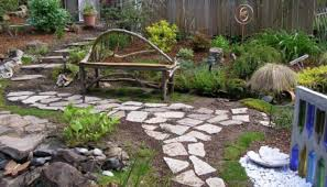 Ideas For Garden Walkways Ideas For Beautiful And Affordable Garden Pathways Morflora