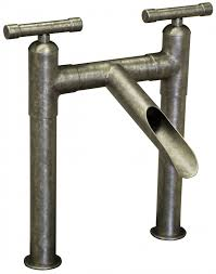 waterfall kitchen faucet waterbridge 2 deck mount w waterfall