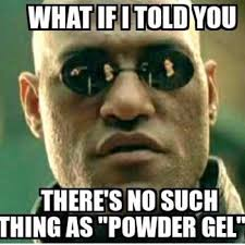 Nail Tech Meme - pro nail tech training powder gel