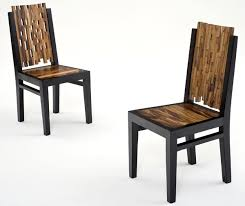 Rustic Dining Chair Contemporary Wooden Modern Chair Modern Dining Chair Sustainable