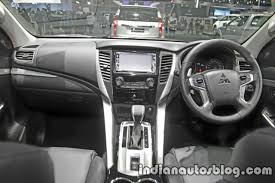 mitsubishi suv 2016 interior all new mitsubishi pajero sport to launch in india in april 2018