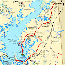 scenic byway chesapeake country scenic byway map america s byways