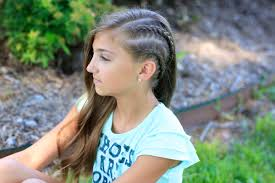 Half Shaved Hairstyles Girls by Double Dutchback Heidi Klum Hairstyles Cute Girls Hairstyles