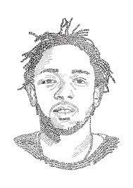 kendrick lamar lyric drawing by class of 93