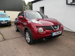 nissan juke red used nissan juke acenta red cars for sale motors co uk