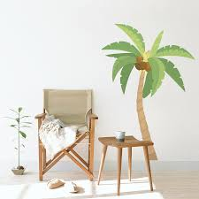 palm tree decal gardens and landscapings decoration palm tree printed wall decal