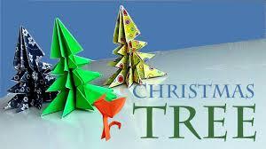 how to make origami christmas tree youtube