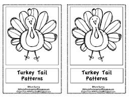 kindergarten thanksgiving emergent reader turkey patterns