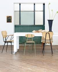 Floor Dining Table Reclaimed Wood Parsons Dining Table Sfgirlbybay