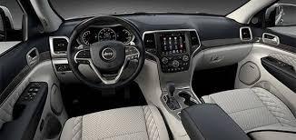 jeep cherokee sport interior 2017 2017 jeep grand cherokee trailhawk and summit