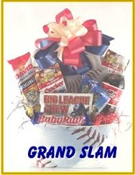 baseball gift basket grand slam baseball gift baskets for men stuff