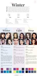 best hair color for deep winters best 25 clear winter ideas on pinterest winter color palettes