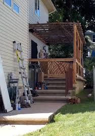 man caves features mountain laurel handrail for exterior