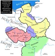 bohemia map kingdom of bohemia