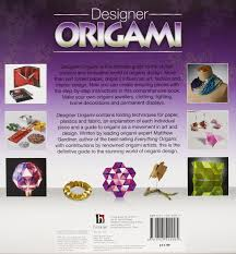 designer origami binder matthew gardiner 9781743522905 amazon