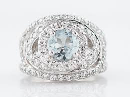 right ring right ring modern 1 20 brilliant cut aquamarine 2 0