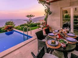 infinity view villa luxury villa private infinity pool