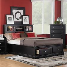 Bedroom Ideas Red Black And White Red Black And White Bedroom One Drawer One Door Night Stand