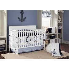 bacati little sailor blue navy boys 10 piece boys nursery in a