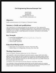 Resume Format For Civil Engineers Pdf Environmental Engineering Resume