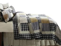 Cream And Black Comforter Black And Gray Quilts U2013 Co Nnect Me
