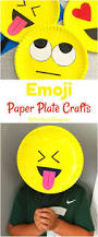 Paper Plate Craft Ideas For Kids Super Cute Emoji Paper Plate Craft Emotions Theme Party Prop