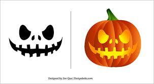 Pumpkin Halloween Templates - halloween 2013 free scary pumpkin carving patterns ideas