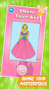 kids coloring book princess android apps google play