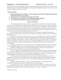 Examples In Essays Biography Essay Examples Writing An Autobiography Essay Narrative