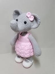 etsy crochet pattern amigurumi crochet pattern amigurumi miss elephant by mkrho on etsy https www