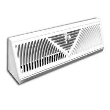 truaire 48 in steel baseboard diffuser supply 121sw 48 the home