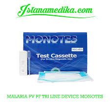 Alat Tes Malaria jual malaria pf pv tri line device monotes istana medika