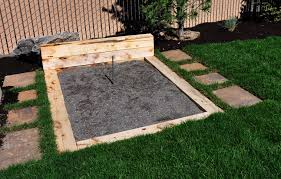 Building A Horseshoe Pit In Backyard Fun Backyard Features Headwaters Outdoor Living And Landscape