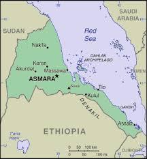 africa map eritrea eritrea africa