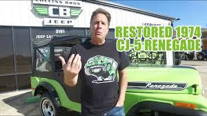 1974 jeep renegade restored 1974 jeep cj 5 renegade for sale