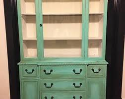 1920 S China Cabinet by China Cabinet Etsy