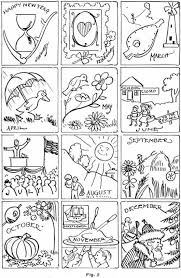 months of the year colouring pages for kids june coloring pages 9
