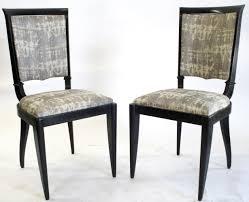 1930 u0027s french art deco leleu dining chairs set 6 omero home