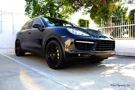 porsche cayenne blacked out just throwing out a mint set of 21