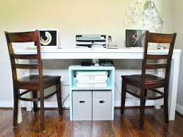 Small Desk For Home Useful Tips Of Two Person Desk Home Office Homeideasblog
