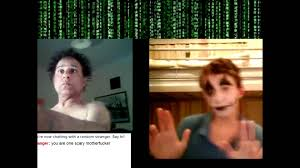 halloween scary pranks on chatroulette starring the scary guy