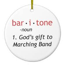 baritone ornaments keepsake ornaments zazzle